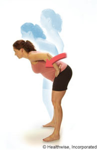 Upper-body-bends exercise