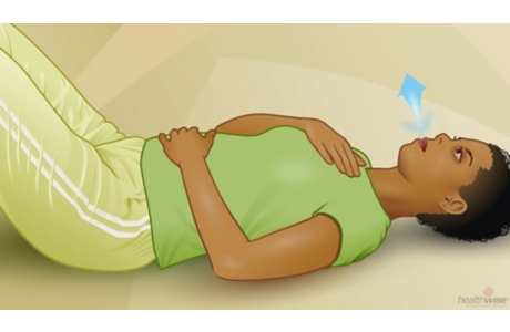 Stress Management: Roll Breathing